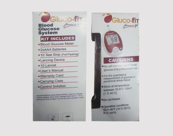 Gluco Fit Blood Glucose Monitor