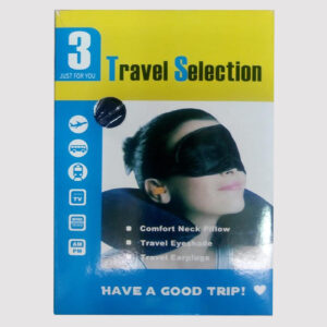 Travel selection 3 in 1 Neck Pillow & Eye Shade