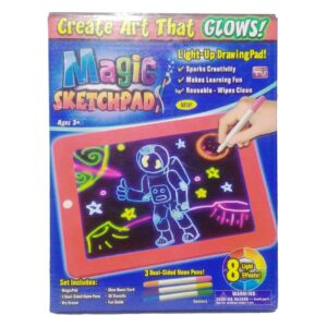 3D Magic Drawing Pad 8 Light Effects Puzzle Board