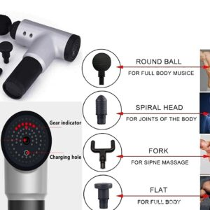 Fascial Deep Muscle Fitness Chargeable Massager Leg Deep Vibration Full Body Relaxation Machine