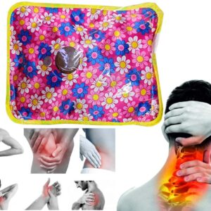 JAF Electric Hot Water Bottle For Pain Relief Flower Bag for Men & Women