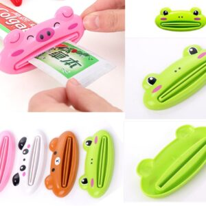Toothpaste Dispenser Toothpaste Skin Care Products Squeeze Lips Squeeze Toothpaste Clip Bathroom Products Random Color